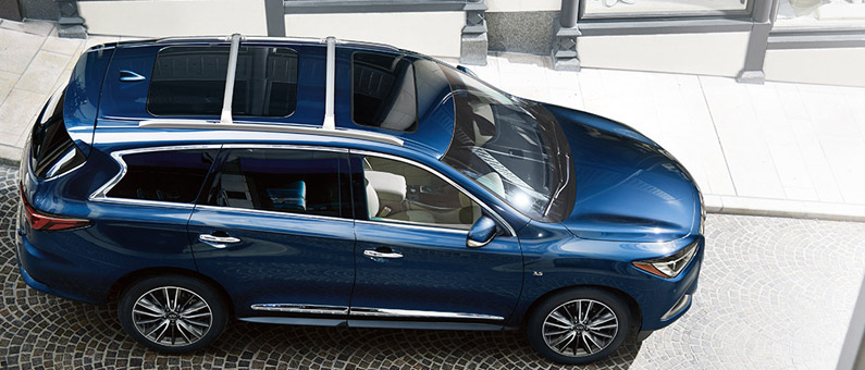 Updates to the 2017 INFINITI QX60