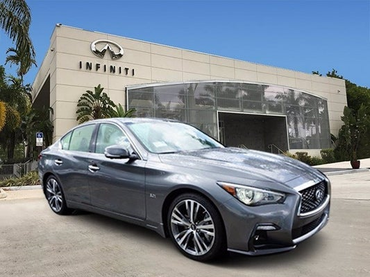 2018 Infiniti Q50 3 0t Sport In Coconut Creek Fl Of